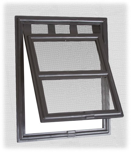 Two-way Screen Door Pet Access Snap Flap