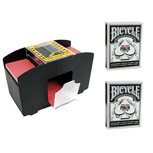 Jobar International 2-Deck Automatic Card Shuffler with (...
