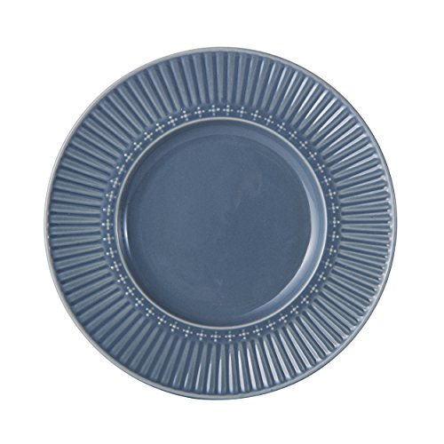 Mikasa Italian Countryside Accents Appetizer Plate, Fluted Blue