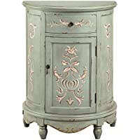 Stein World Lucille Accent Cabinet, Sage/White