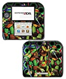 Teenage Mutant Ninja Turtles TMNT Leonardo Leo Cartoon Movie Video Game Vinyl Decal Skin Sticker Cover for Nintendo 2DS System Console
