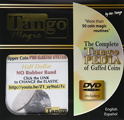 Elastic System (Half Dollar DVD with Gimmick) (D0089) by Tango - Trick by M & M's ()