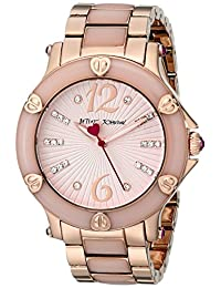 Betsey Johnson Women's BJ00459-04 Analog Display Quartz Rose Gold Watch