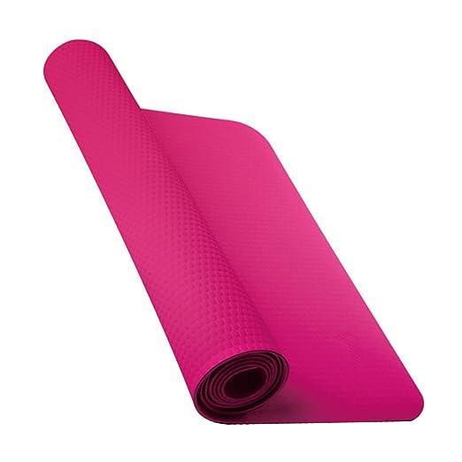 Amazon Com Nike Fundamental Yoga Mat 3mm Vivid Pink Sports