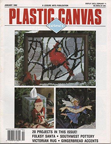 Plastic Canvas Corner (January 1992, Volume 3, Number (Plastic Canvas Corner)