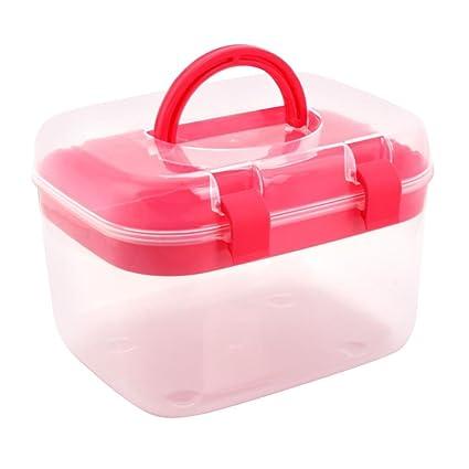 Amazoncom Whitelotous Portable Plastic Storage Box Organizer