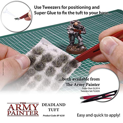 The Army Painter Deadland Tuft Battlefields Xp Terrain Model Kit For Miniature Bases And Dioramas 77 Pcs 3 Sizes