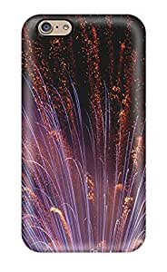 New Snap-on JeffreySCovey Skin Case Cover Compatible With Iphone 6- Fireworks Closeup