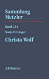 Christa Wolf: Sammlung Metzler, 224 (German Edition)
