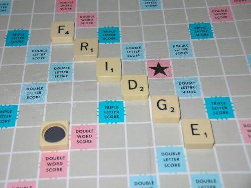 6 x Scrabble imanes para frigorífico con diseño Vintage con bandera de Scrabble Original nieve de onneke Van waardenburg en caja regalo: Amazon.es: Hogar