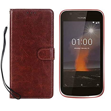 premium selection e41fa 62fbd CRodible Innovation™Vintage Leather Wallet Flip: Amazon.in: Electronics
