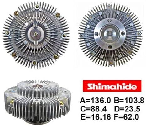 shimahide Ventilador Ventilador de embrague para 2010 - 2013 Toyota 4Runner FJ Cruiser 4.0L V6 16210 - 31030: Amazon.es: Coche y moto
