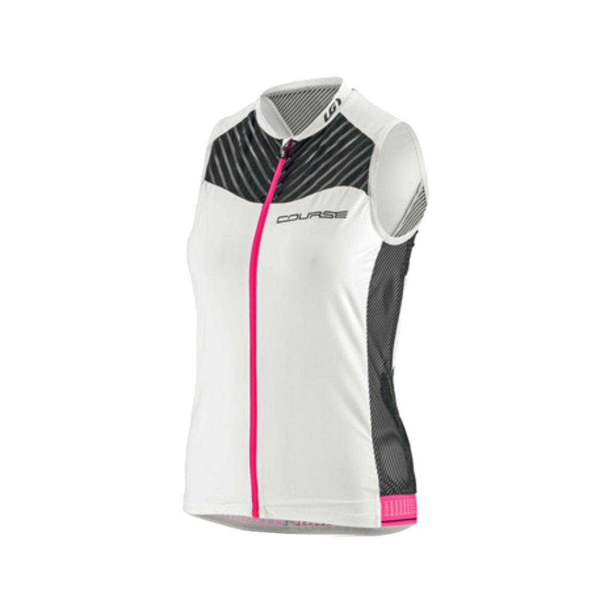 Louis Garneau Course 2 Sleeveless Top - Women's Black / White / Pink Glow Medium