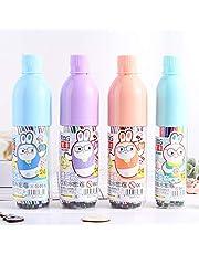 YUQI Dibujos Animados Acuarela Pluma Niños Estudiantes Graffiti Pluma Set Rotulador Lindo Drift bottle 24 colores