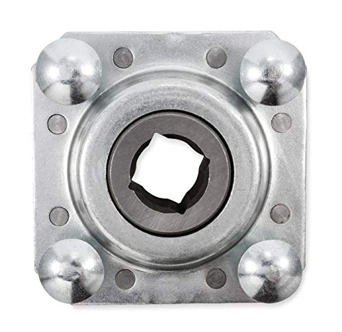 Black Boar Bearing-Replacement Part for Your ATV Cultipacker, Disc Harrow and Plugger-Includes Mounting Hardware (66032)