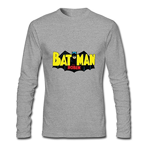 (Men's Batman And Robin Long Sleeve)