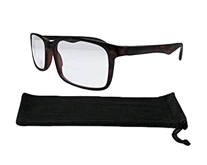 9f383686e0 Brown Wayfarer Bifocal Reading Glasses Spring Hinges Quality Frame   Lenses  247 +3.00
