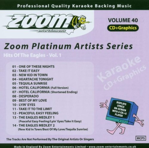 Zoom Karaoke CD+G - Platinum Artists 40: The Eagles 1