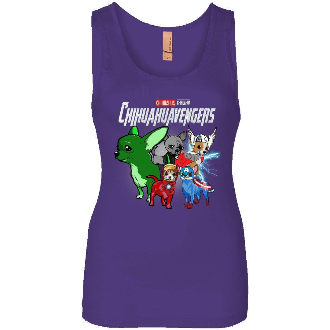 Chihuahuavengers Chihuahua Dogs Avengers Team Funny Tank For Girls Shirts