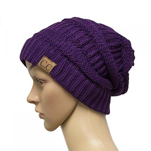 PL29_(US Seller)New Fashion Women Men Warm Hat Winter Cap