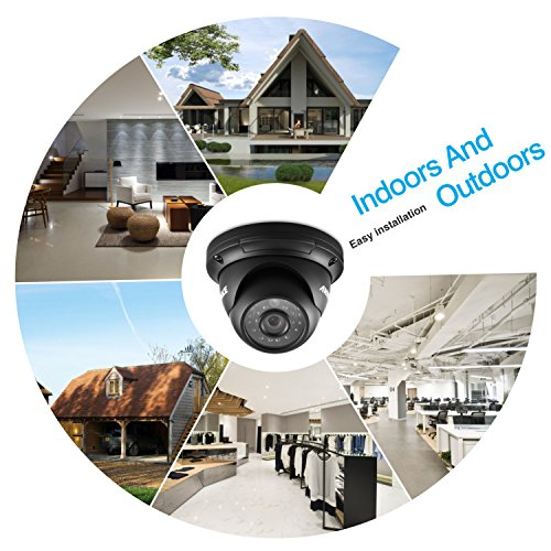 chic ANNKE 960P(Better Than 720p) Security Dome Cameras with