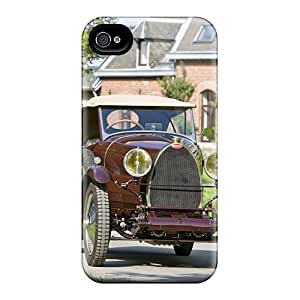 New Arrival Cover Case With Nice Design For Iphone 4/4s- Bugatti Type 30 Torpedo