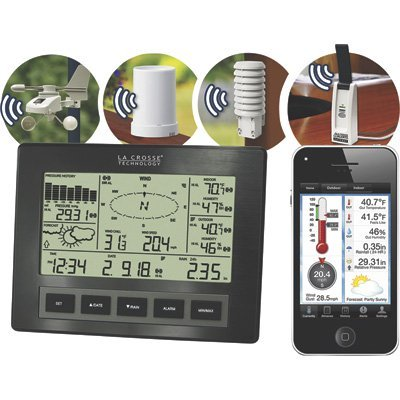 La Crosse Technology C84612 Professional Weather - Weather Center Wireless Professional