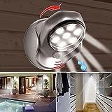 ProBache - Lampe 7 leds à détecteur de mouvement orientable 360 degrés