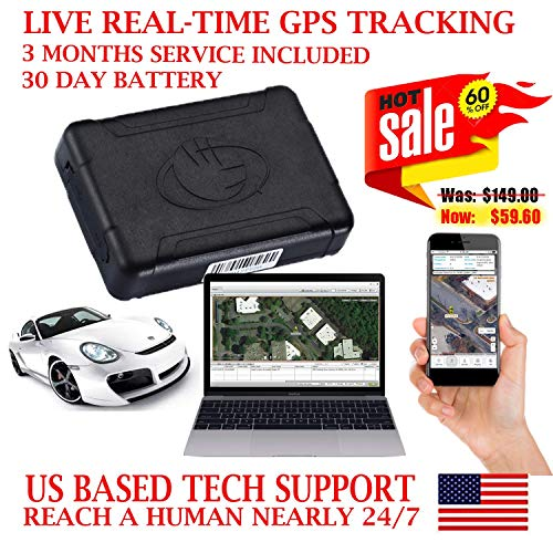 AES RGT915 GPS Tracker GPRS Mini Portable Vehicle Locating Tracking Device. PRE-ACTIVATED SIM CARD WITH 3 MONTHS SERVICE INCLUDED!!! Works up to 30 days on a single charge.