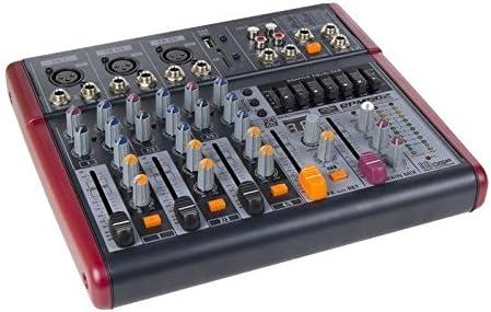 QPM-502 MESA MEZCLADORA P. A DSP QP-AUDIO: Amazon.es ...