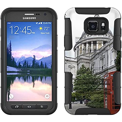 Samsung Galaxy S7 Active Armor Hybrid Case St Pauls Cathedral 2 Piece Case with Holster for Samsung Galaxy S7 Sales