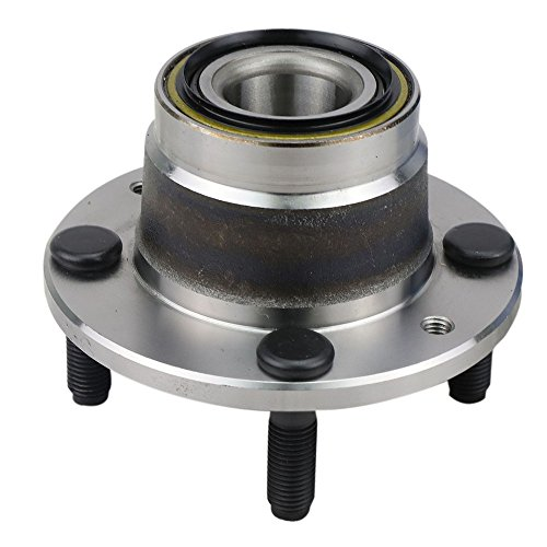 CRS NT513030 New Wheel Bearing Hub Assembly, Rear Left/Right, for Ford 1991-03 Escort/ 1994-03 Escort Zx2, Mazda 1990-03 Protege/ 1992-02 Mx-3/1990-95 323, Mercury 1991-99 Tracer, w/o ABS ()
