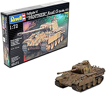 Revell Maqueta PzKpfw V Panther Ausf.G (SD.Kfz. 171), Escala 1:72 (03171), Multicolor