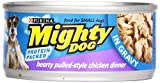 Purina Mighty Dog Wet Dog Food Hearty Pulled Style Chicken Dinner In Gravy – 5.5oz Can, 5.5 oz