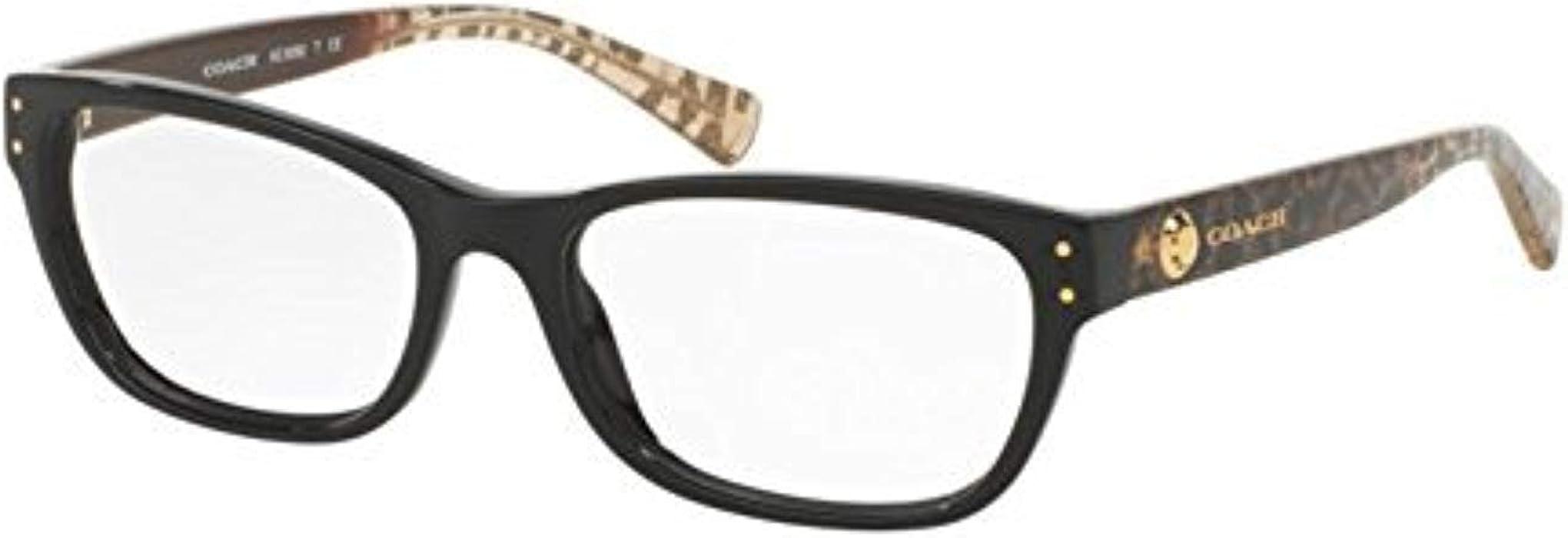 b3ce9f409eea8 Coach Women s HC6082F Eyeglasses Black Wild Beast 53mm at Amazon ...