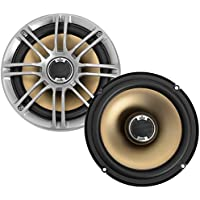 Polk Audio DB651 6.5/6.75 2-Way Marine Certified db Series Car Speakers with Liquid Cooled Silk Tweeters