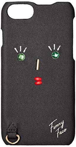 아코모데 Accommode 퍼니 페이스 iPhone 아이폰 케이스 XB1073 6/6s/7/8 대응 실버/블랙/베이지