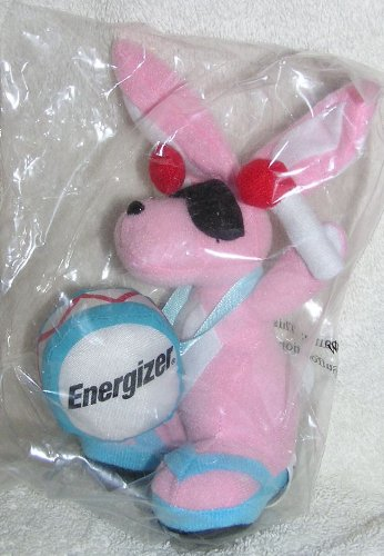 2010 Plush 7' Energizer Bunny Bean Bag Doll