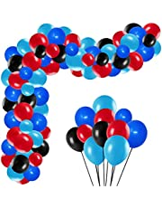 Spiderman InspiredParty Supplies Balloons Arch Garland Kit, Kids Baby Shower Birthday Party (100PCS)