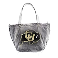 NCAA Colorado Buffaloes Vintage Tote, Black