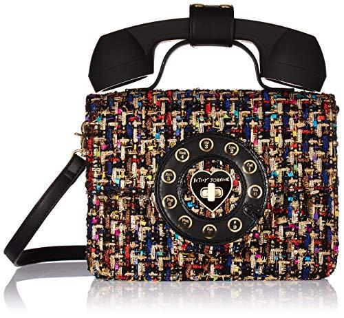 Betsey Johnson Answer Me Phone Bag,  Multi, One Size (Handbags By Betsey Johnson)