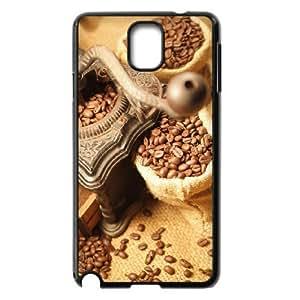 Diy Coffee Bean Phone Case for samsung galaxy note 3 Black Shell Phone JFLIFE(TM) [Pattern-2]