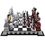 Ausini Simple Package Knight Series Building Blocks Set for Kids with 32 mini figures Building Bricks Knight Empire International Chess 1142 pieces Compatible