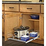 Rev-A-Shelf 1-Tier Metal Pull Out Cabinet Basket