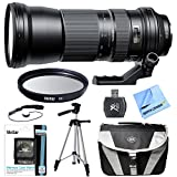 Tamron SP 150-600 mm F/5-6.3 Di VC USD Zoom Lens for Nikon includes Bonus Xit 60'' Full Size Photo / Video Tripod, and More