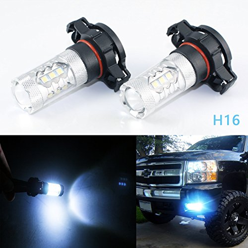 led 5202 fog lights 8000k - 6