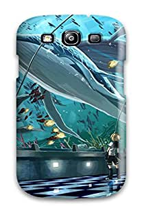 High Quality DanRobertse Animal Fish Kagamine Len Scorpion Vocaloid Skin Case Cover Specially Designed For Galaxy - S3