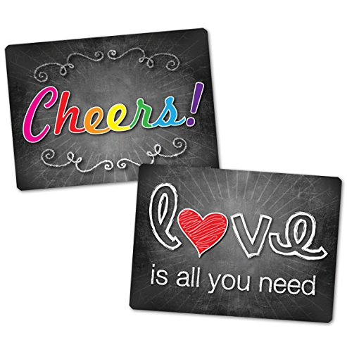 Plastic Photo Booth Prop Signs