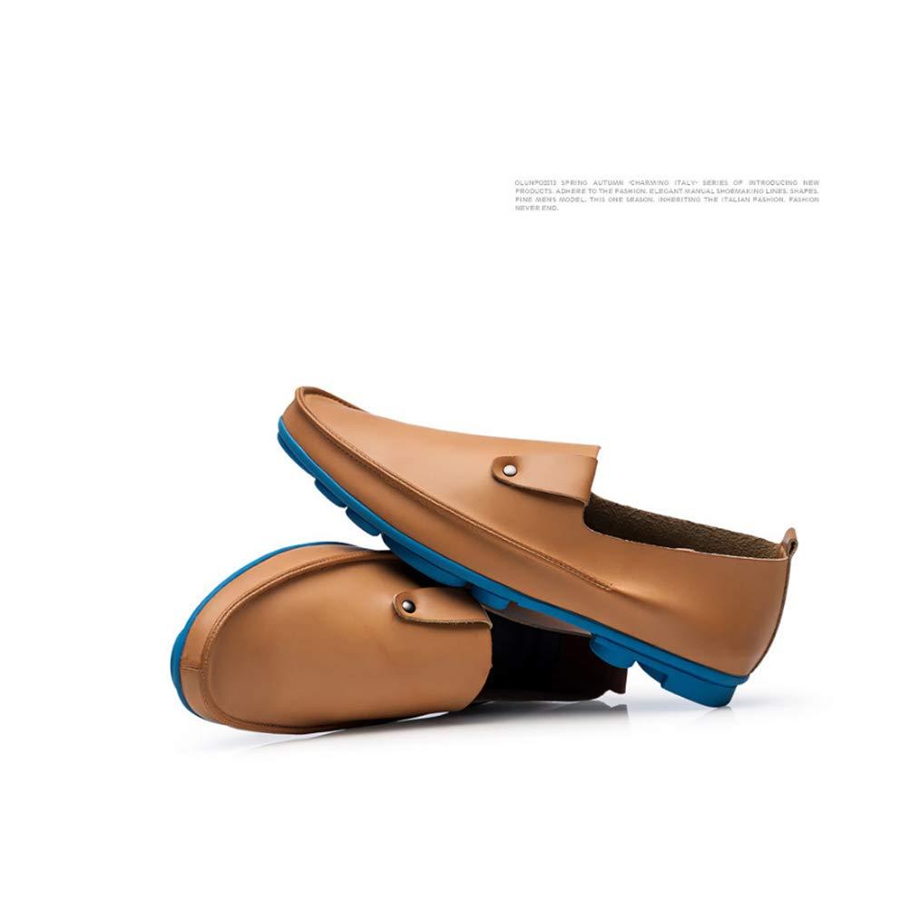 GPF-fei Herrenschuhe Loafers Schuhe Stiefelschuh Faulschuhe Leder-Runde Leder-Runde Leder-Runde Schuh Komfort Mode Luxury Breathable Leisure Leisure Leichtgewicht,schwarzsingleschuhe,37  63006a