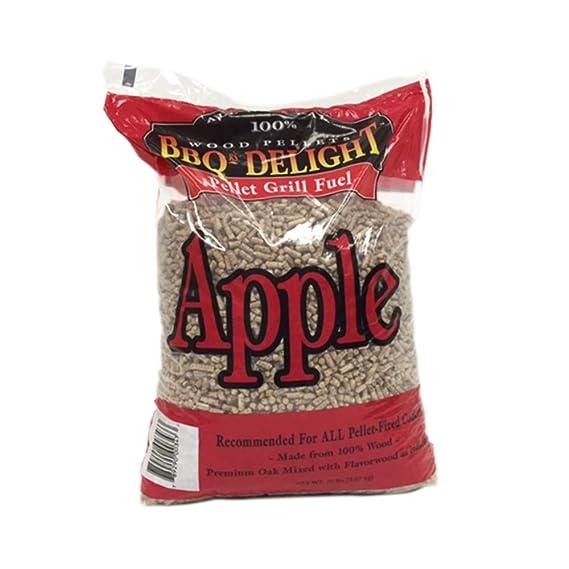 BBQR's Delight Apple Flavor Wood Smoking Pellets 20 pounds